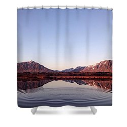 Natural Symmetry Shower Curtain by Happy Home Artistry
