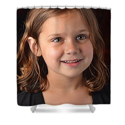 Naturally Kayleigh Shower Curtain by Carle Aldrete
