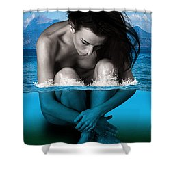 Nature Conservation Shower Curtain