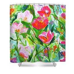 Nature Dance Shower Curtain