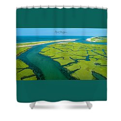Nature Kayaking Shower Curtain