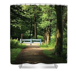 Nature Reserve Netherlands  Shower Curtain