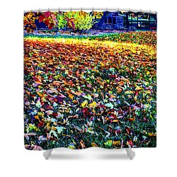 Nature Romancing Us Shower Curtain
