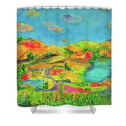 Nature Speaks Shower Curtain