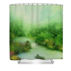 Nature Symphony Shower Curtain by Hannibal Mane