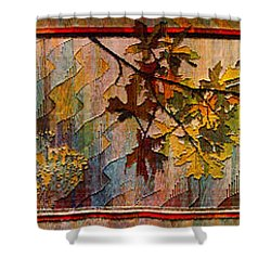 Shower Curtain featuring the photograph Nature Tapestry 1997 by Padre Art