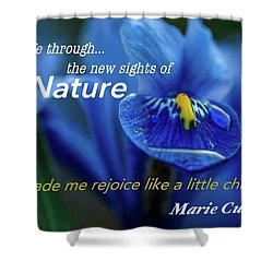 Nature208 Shower Curtain