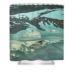 Natures Art On Barnegat Bay Shower Curtain