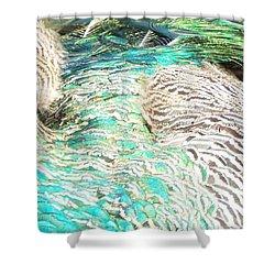 Natures Artwork Shower Curtain by Audrey Van Tassell