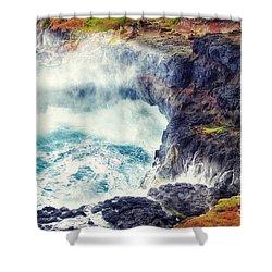 Natures Cauldron Shower Curtain by Blair Stuart