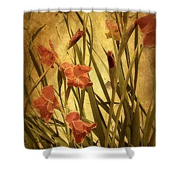 Nature's Chaos In Spring Shower Curtain by Jessica Jenney