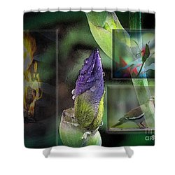 Natures Collage Shower Curtain