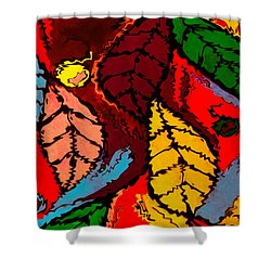 Natures Explosion Shower Curtain