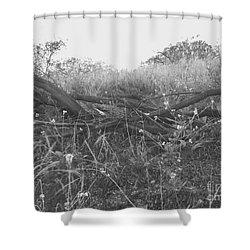 Nature's Fences Shower Curtain