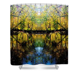 Natures Gate Shower Curtain