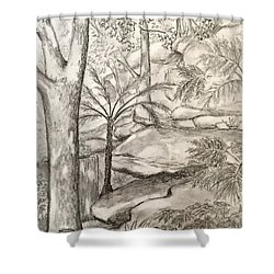 Nature's Gifts Shower Curtain