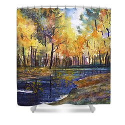 Nature's Glory Shower Curtain by Ryan Radke