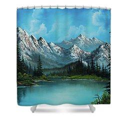 Nature's Grandeur Shower Curtain