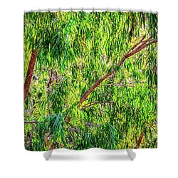 Natures Greens, Yanchep National Park Shower Curtain