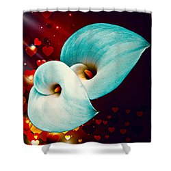 Natures Heart Shower Curtain