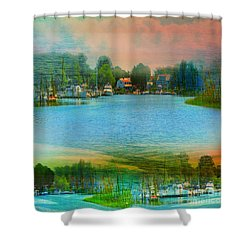 Nature's Magical Sunsets Shower Curtain