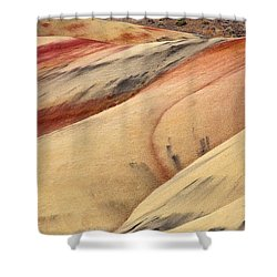 Nature's Palette Shower Curtain by Mike  Dawson