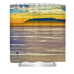 Shower Curtain featuring the photograph Nature's Pallette by Joseph Hollingsworth