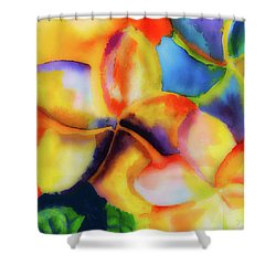 Nature's Pinwheels Shower Curtain by Stephen Anderson