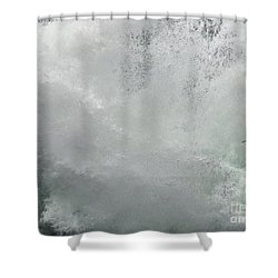 Shower Curtain featuring the photograph Nature's Power by Peggy Hughes