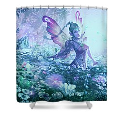 Nature's Renewal Shower Curtain