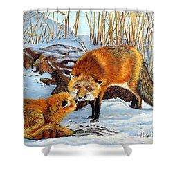 Natures Submission Shower Curtain