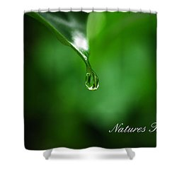 Natures Tear Shower Curtain