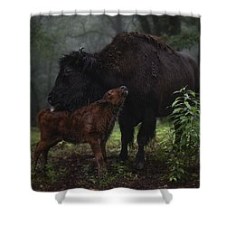 Natures Tender Moments Shower Curtain