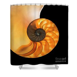Nautalis Shower Curtain