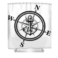 Nautica Bw Shower Curtain