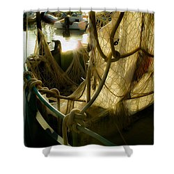Nautical Dreams Shower Curtain