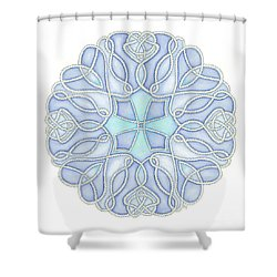 Nautical Mandala 5 Shower Curtain