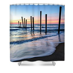 Nautical Morning Shower Curtain