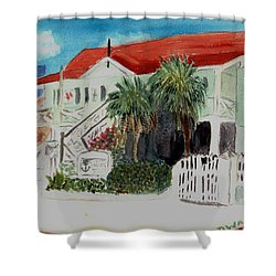 Nautical Museum Georgetown Shower Curtain by Donna Walsh