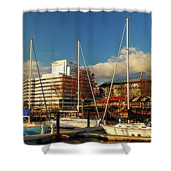 Nautical Norfolk  Shower Curtain