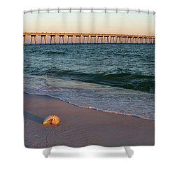 Nautilus And Pier Shower Curtain
