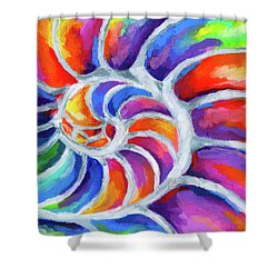 Nautilus Curves Shower Curtain