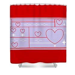 Navajo 8 Shower Curtain by Linda Velasquez