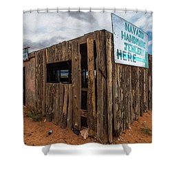 Navajo Jewelry Shower Curtain