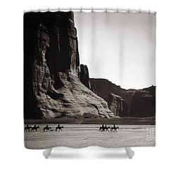 Navajos: Canyon De Chelly, 1904 Shower Curtain by Granger