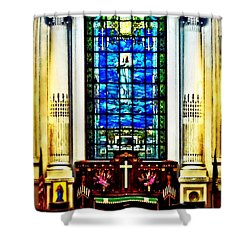 Naval Academy Chapel Shower Curtain