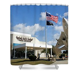 Naval Aviation Museum Shower Curtain