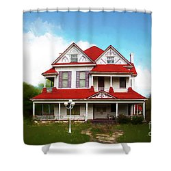 Shower Curtain featuring the photograph Navasota 3 by Elena Nosyreva