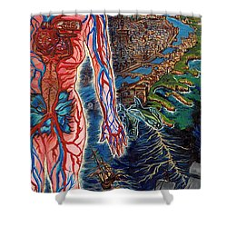 Navigation Shower Curtain