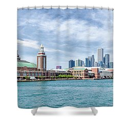 Navy Pier - Chicago Shower Curtain